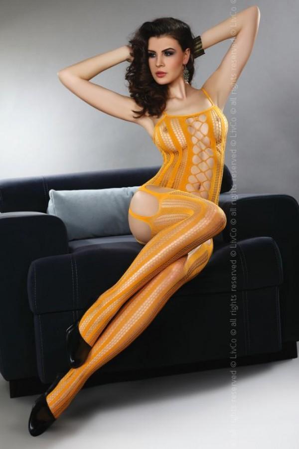 Бодистокинг Livia Corsetti Almas - оранжевый