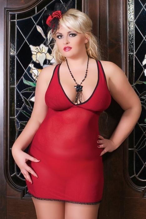 Эротическое платье Andalea Rossi - красный
