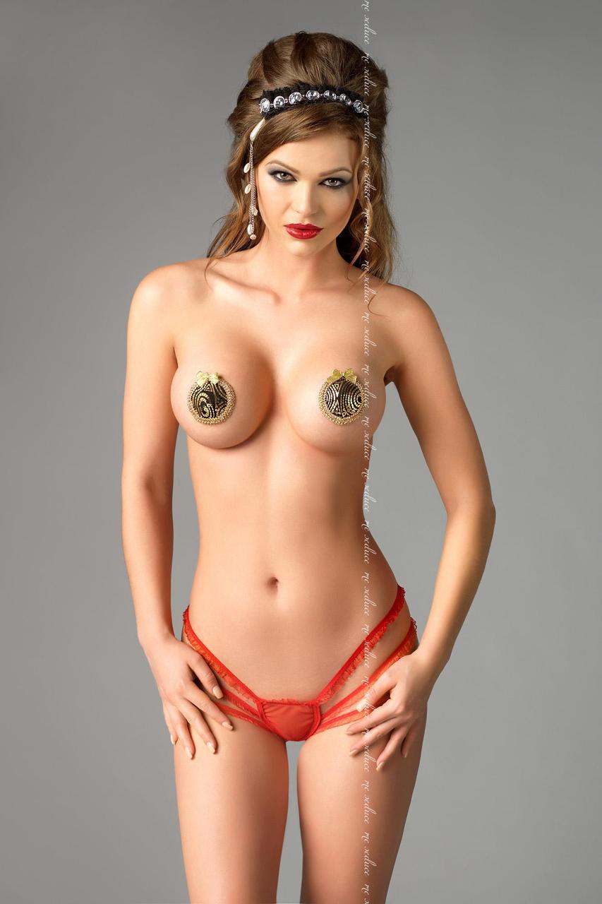 Наклейки для груди Me Seduce NC005 - золотистый