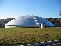 Крыши резервуаров -  изготовление и монтаж