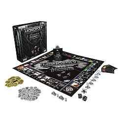 Настільна гра Monopoly Game of Thrones Board Монополія Гра престолів monopoly GT