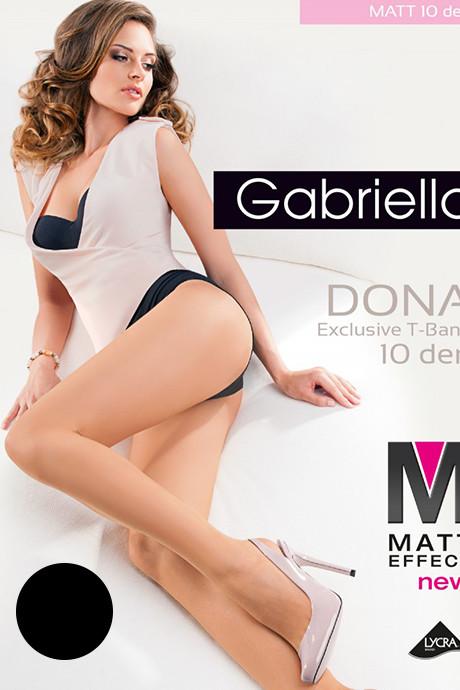 Колготки Gabriella Dona Matt 10 den - черный