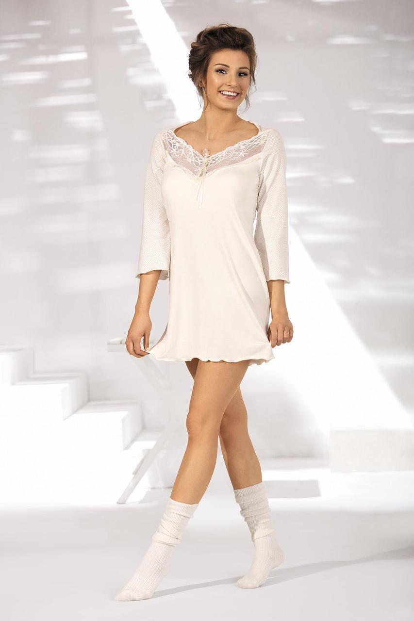 Ночная рубашка Ava Classy PJ 5 - экри
