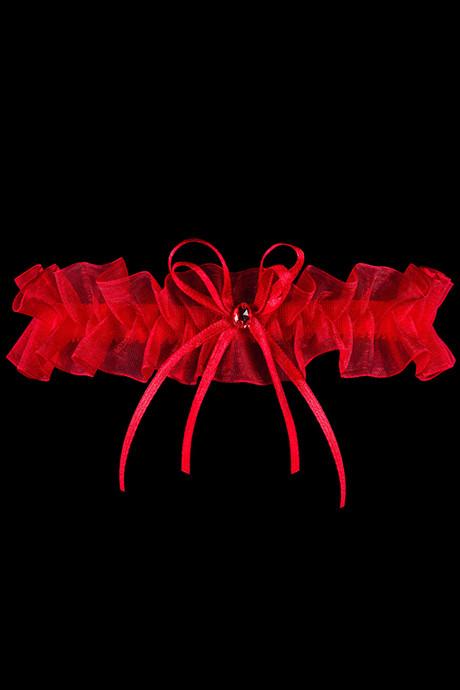 Подвязка на ножку Julimex PW 98 - красный