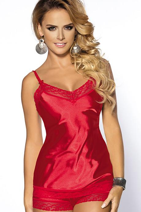 Эротический комплект Anais Marcia - красный