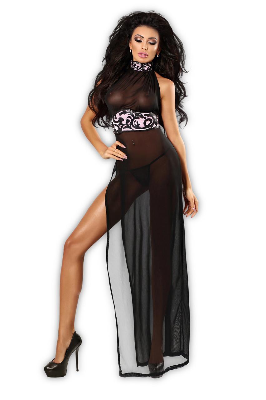 Эротическое платье Lolitta Etra chemise - черный