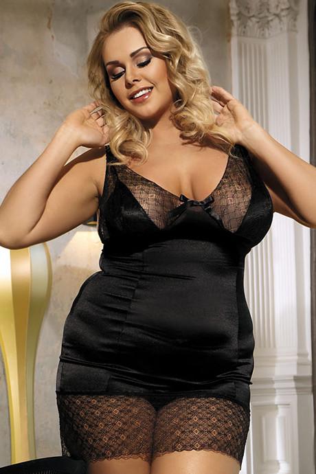 Сорочка Anais Enfia - черный