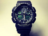 ЧАСЫ CASIO G-SHOCK GA-100  black–white