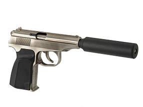 WE-MK GBB Pistol - Silver [WE] (для страйкбола), фото 2