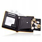 Шкіряний гаманець BETLEWSKI з RFID 12.2 х 9.6 х 2.5 (BPM-DP-62) - чорний, фото 4