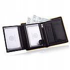 Шкіряний гаманець BETLEWSKI з RFID 12.2 х 9.6 х 2.5 (BPM-DP-62) - чорний, фото 6