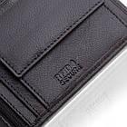 Шкіряний чоловічий гаманець BETLEWSKI з RFID  9,8 х 12,5 х 2,5 (BPM-DP-61) - чорний, фото 8