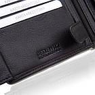 Шкіряний чоловічий гаманець BETLEWSKI з RFID  9,8 х 12,5 х 2,5 (BPM-DP-61) - чорний, фото 9