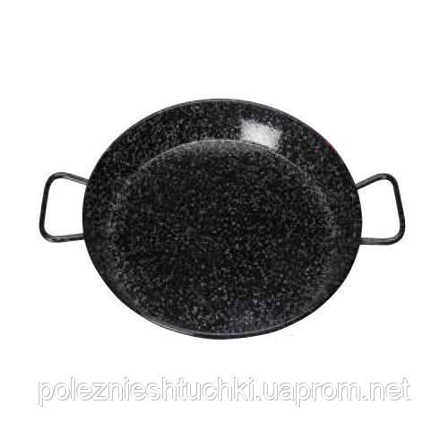 Сковорода карбоновая сталь с двумя ручками, 60 см