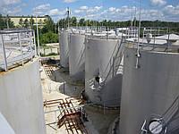 Вертикальные цилиндрические стальные резервуары объёмом от 100 до 5000 м. куб.