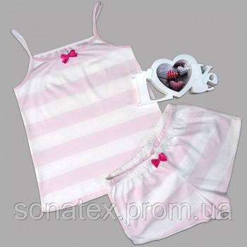 Пижама на бретельках (рибана), 40-42 размер