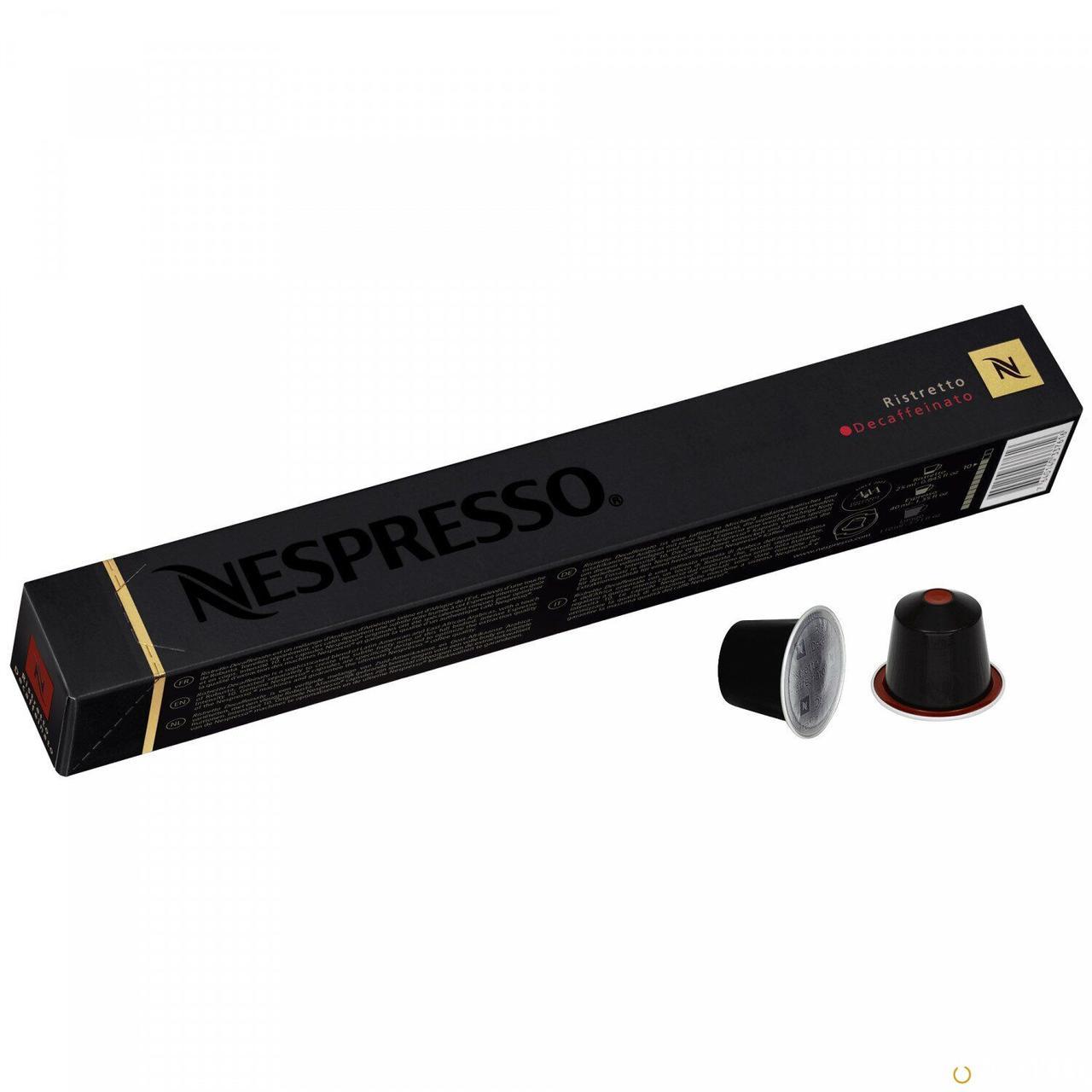 Кофе в капсулах Nespresso Ristretto decaffe 10шт