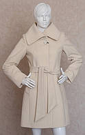 Пальто кашемировое женское молочное
