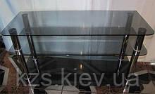 Тумба под телевизор из стекла