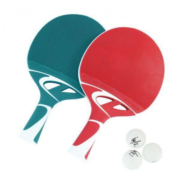 Набор ракеток для настольного тенниса Cornilleau Tacteo Duo, мультицвет