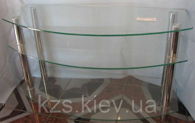 Подставка под TV из стекла
