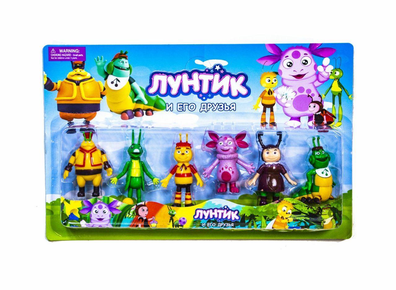 Фигурки игрушечные Лунтик в блистере