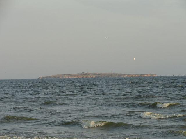 Курорт на побережье Чёрного моря (мыс Аджияск)