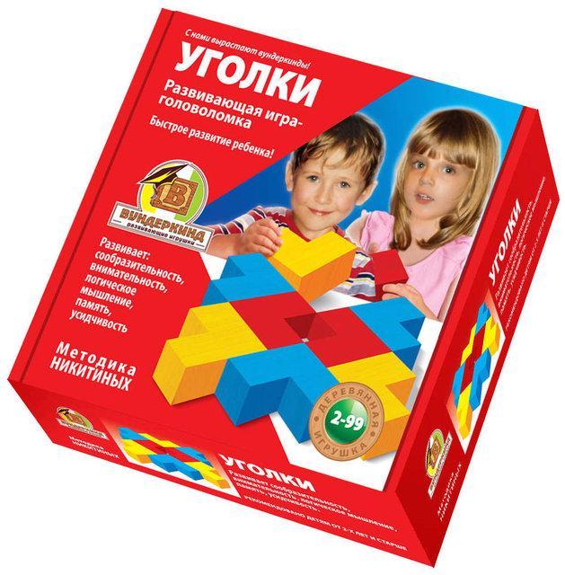 Методика Нікітіна Куточки полегшені Кубики для всіх