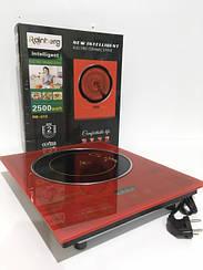 Электрическая плита индукционная керамическая кухонная Rainberg RB-810 2500 Вт R