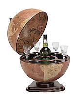 Глобус-бар настільний Zoffoli (Італія) Galileo Rust (40 х 40 х 48 см) 248-0007