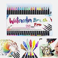Акварельные маркеры карандаши краски кисти