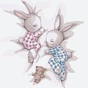 Картина по номерам Идейка Сладкие сны 30*30 см (без коробки) арт.KHO2335