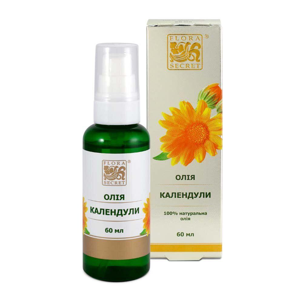 Косметическое масло календулы, Flora Secret, 60 мл