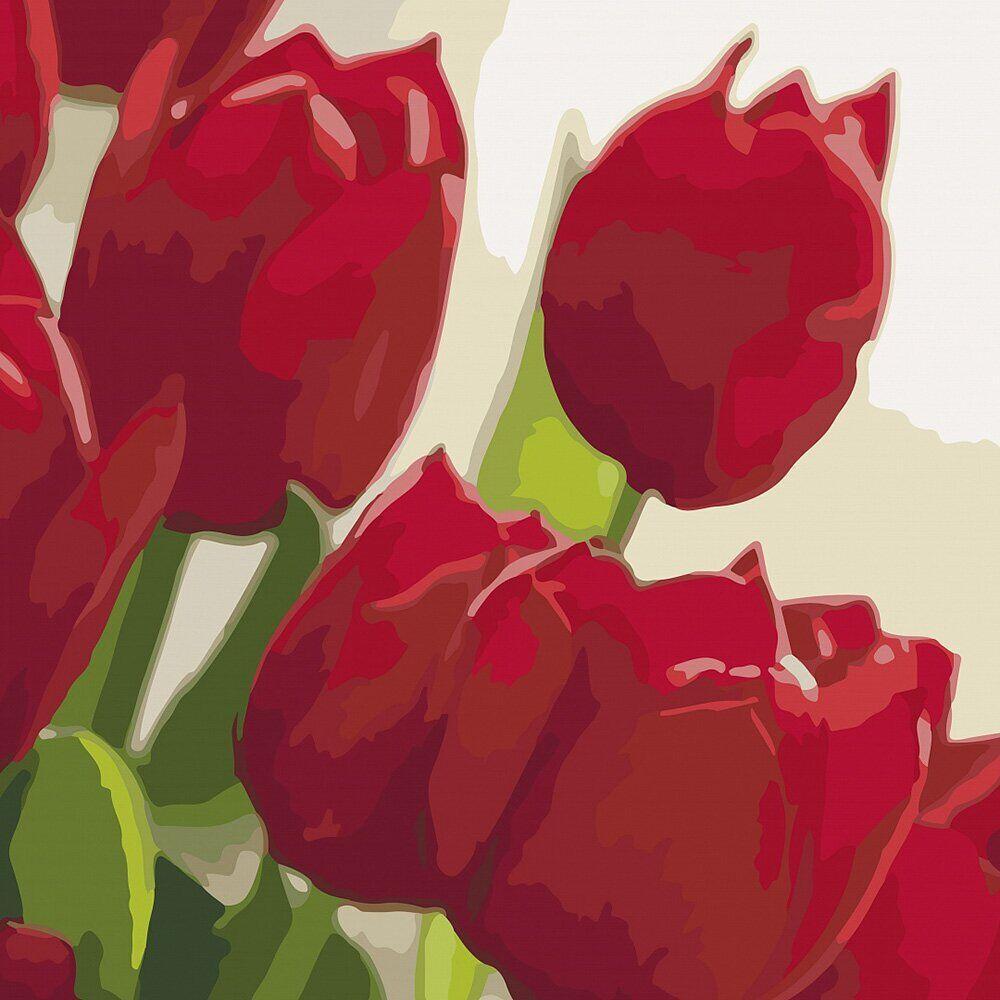 KHO2950 Картина-раскраска Любимой, Без коробки