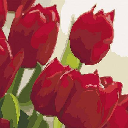 KHO2950 Картина-раскраска Любимой, Без коробки, фото 2