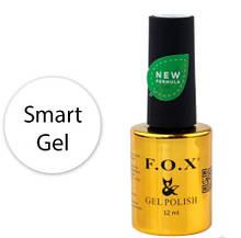 Гель F.O.X. Smart Gel для укрепления натуральных ногтей, 12 мл
