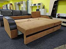 Угловой диван Бентли с дополнительными бельевыми ящиками в боковушках, фото 3