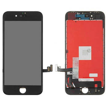 Дисплей IPhone 8 + сенсор Чорний high copy