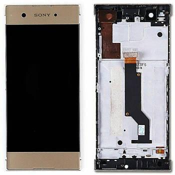 Дисплейный модуль Sony Xperia XA1 Gold
