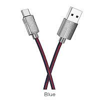Кабель USB Hoco X14 Times Speed USB Type-C Cable 2M Black