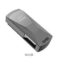 Флешка HOCO USB Flash Disk Wisdom high-speed flash drive UD5 64GB