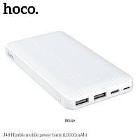 УМБ HOCO Nimble J48 10000mAh |2USB/1Type-C, 2A|