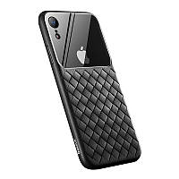 Чехол Baseus Glass and Weaving для iPhone XR