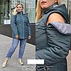 Жіноча куртка зі знімним рукавом, з 52-72 розмір