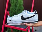 Женские кроссовки Nike Cortez (бело-черные) 9795, фото 2