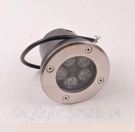 Тротуарный светильник 5W 6500k Lemanso