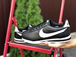 Женские кроссовки Nike Cortez (черно-белые) 9796, фото 3