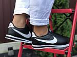 Женские кроссовки Nike Cortez (черно-белые) 9796, фото 2