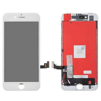 Дисплей IPhone 8 + сенсор Белый high copy
