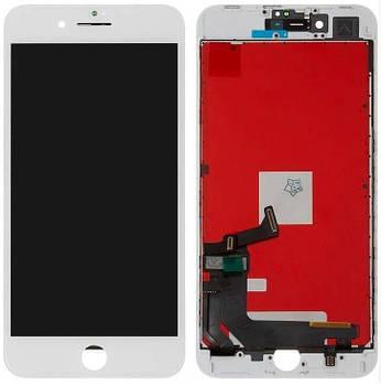 Дисплей IPhone 8 Plus+ сенсор Белый high copy